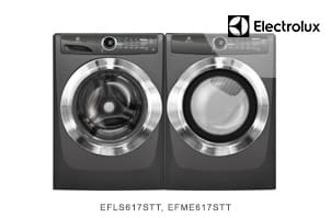 Electrolux Titatanium Laundry Pair with LuxCare