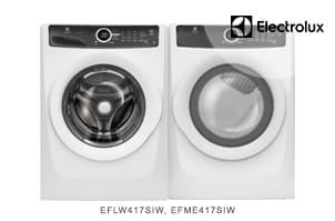 Electrolux White Laundry Pair with LuxCare