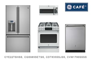 GE Cafe Series Kitchen Appliance Package