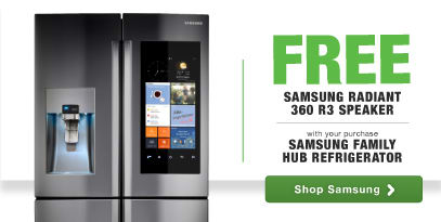 Samsung Family Hub Free Speaker with purchase