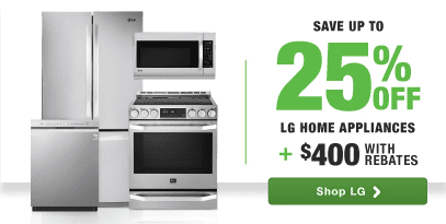 LG top brand kitchen package rebate save on innovation