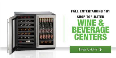 U Line premium undercounter refrigerators beverage centers wine cabinets