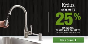 kraus premium sinks and faucets luxury style performance bathroom kitchen