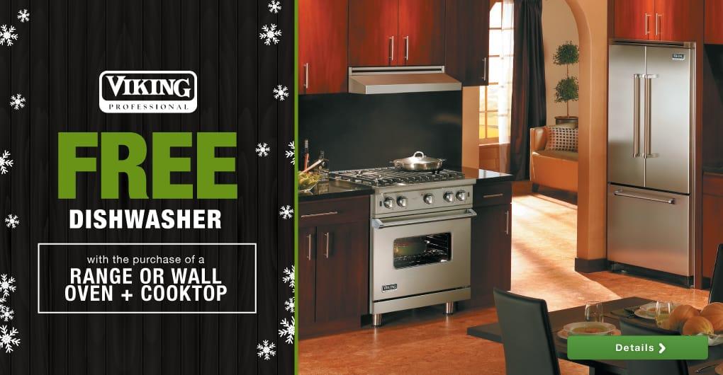 Viking premium luxury kitchen appliances rebate savings