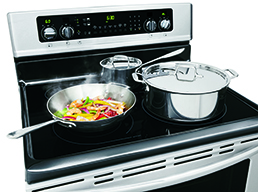 Fits-More™ Cooktop with SpaceWise® Expandable Elements