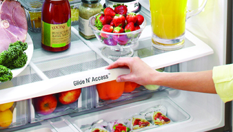 See and Easily Access Food
