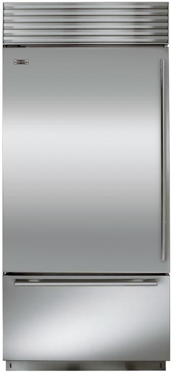 Sub Zero Bi36u 36 Inch Built In Bottom Freezer