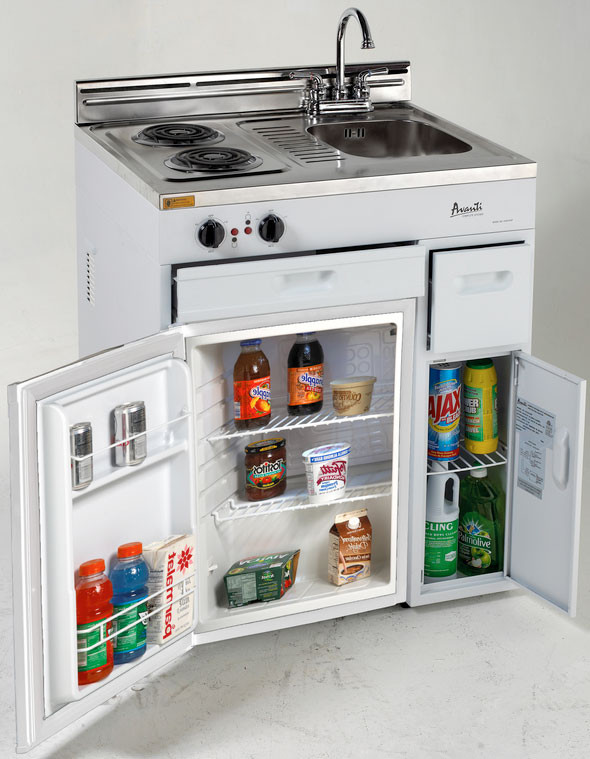 Avanti Ck3016 30 Inch Compact Kitchen With 2 2 Cu Ft All