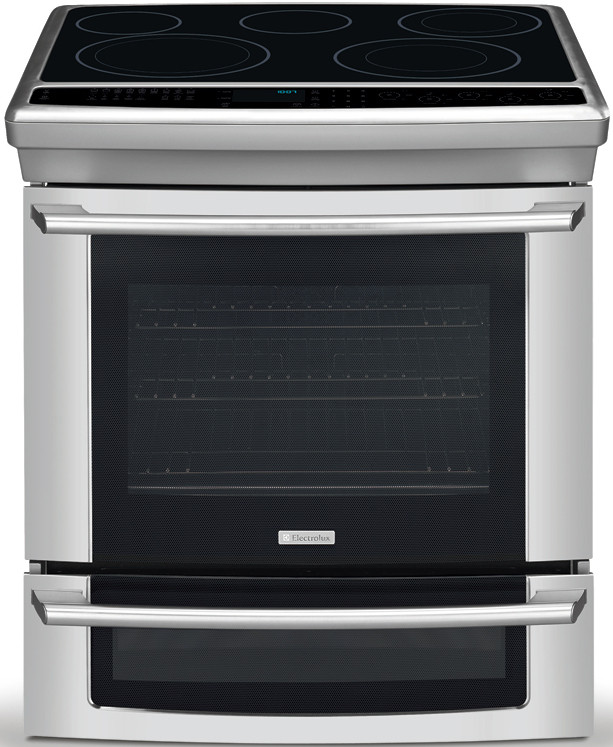 Electrolux Ei30es55js 30 Inch Slide In Electric Range With