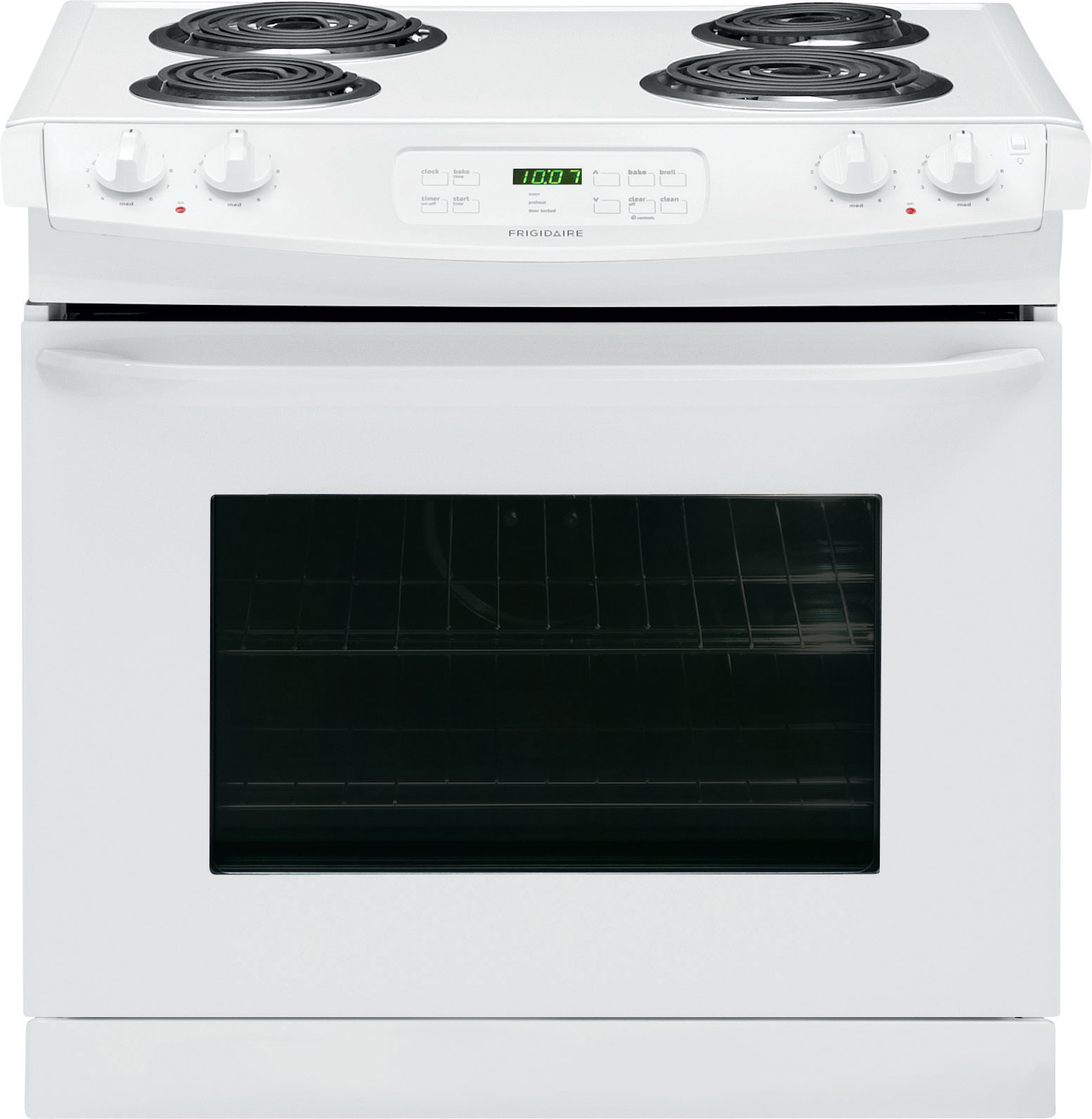 Frigidaire Ffed3015pw 30 Inch Drop In Electric Range With