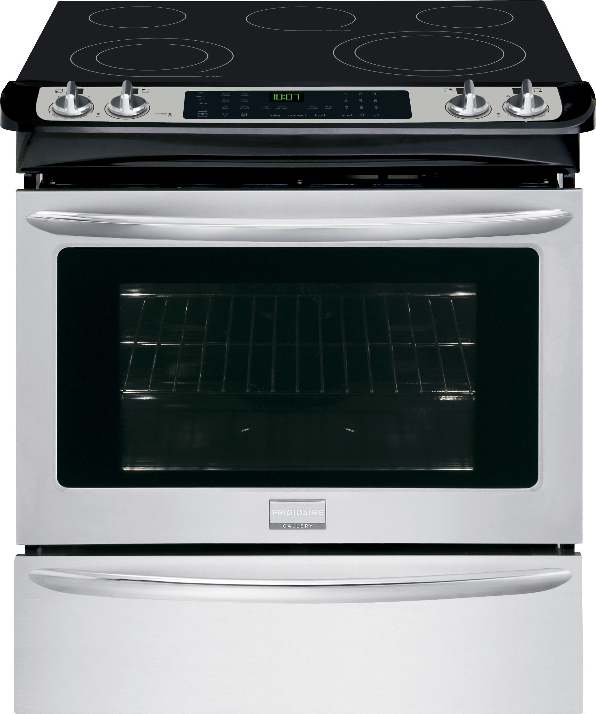 Frigidaire Fges3065p 30 Inch Slide In Smoothtop Electric