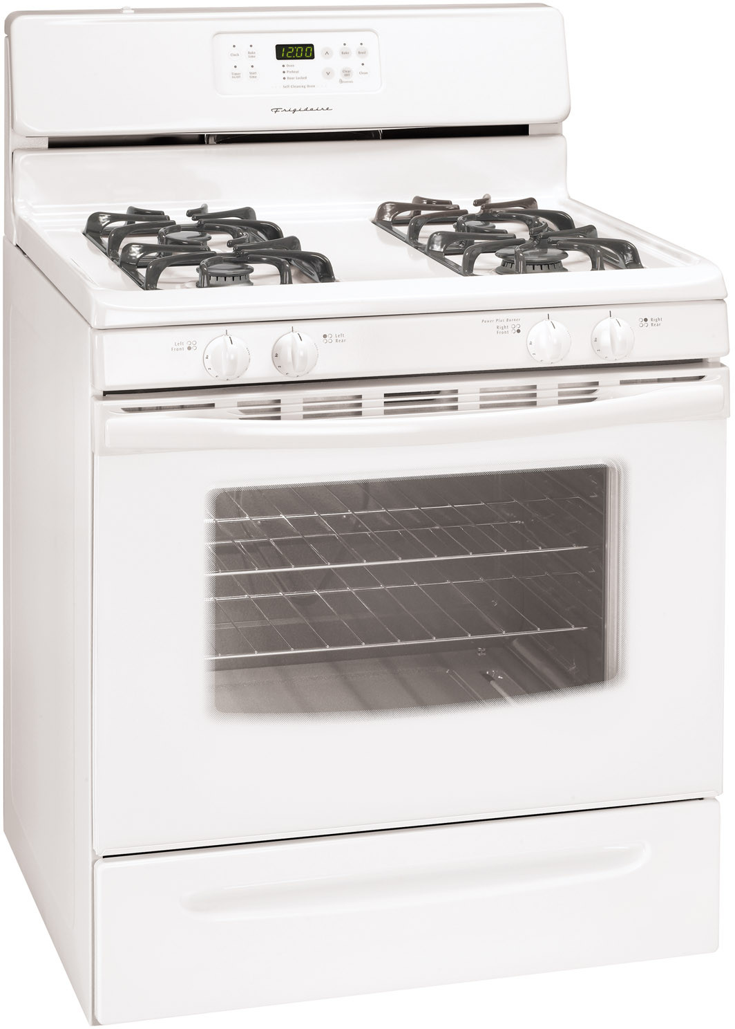Frigidaire FGF368GQ 30 Inch Freestanding Gas Range with 4 Sealed ...