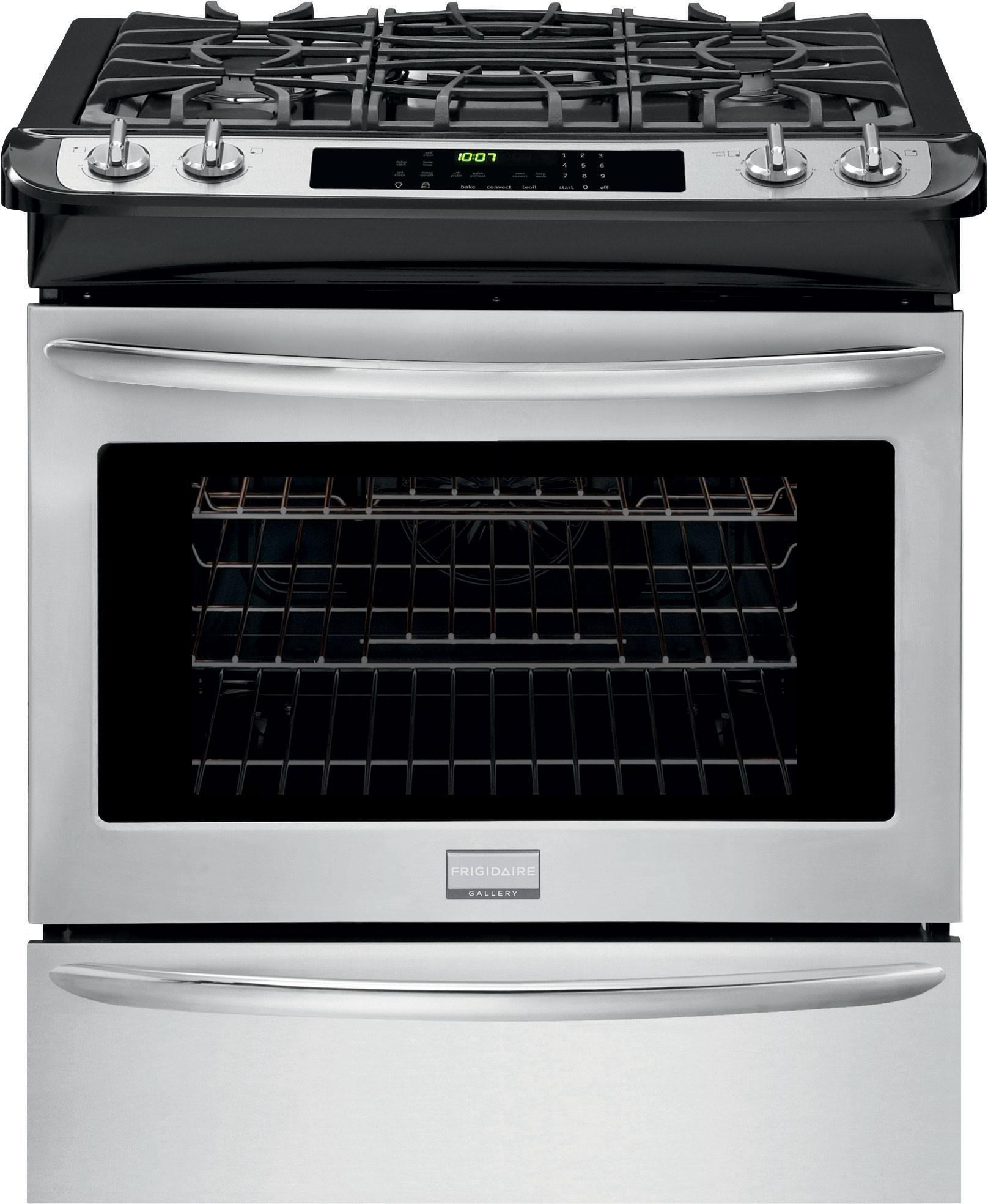 Frigidaire Countertop Electric Stove : Frigidaire FGGS3065PF 30 Inch Slide-in Gas Range with 4.5 cu. ft. Oven ...