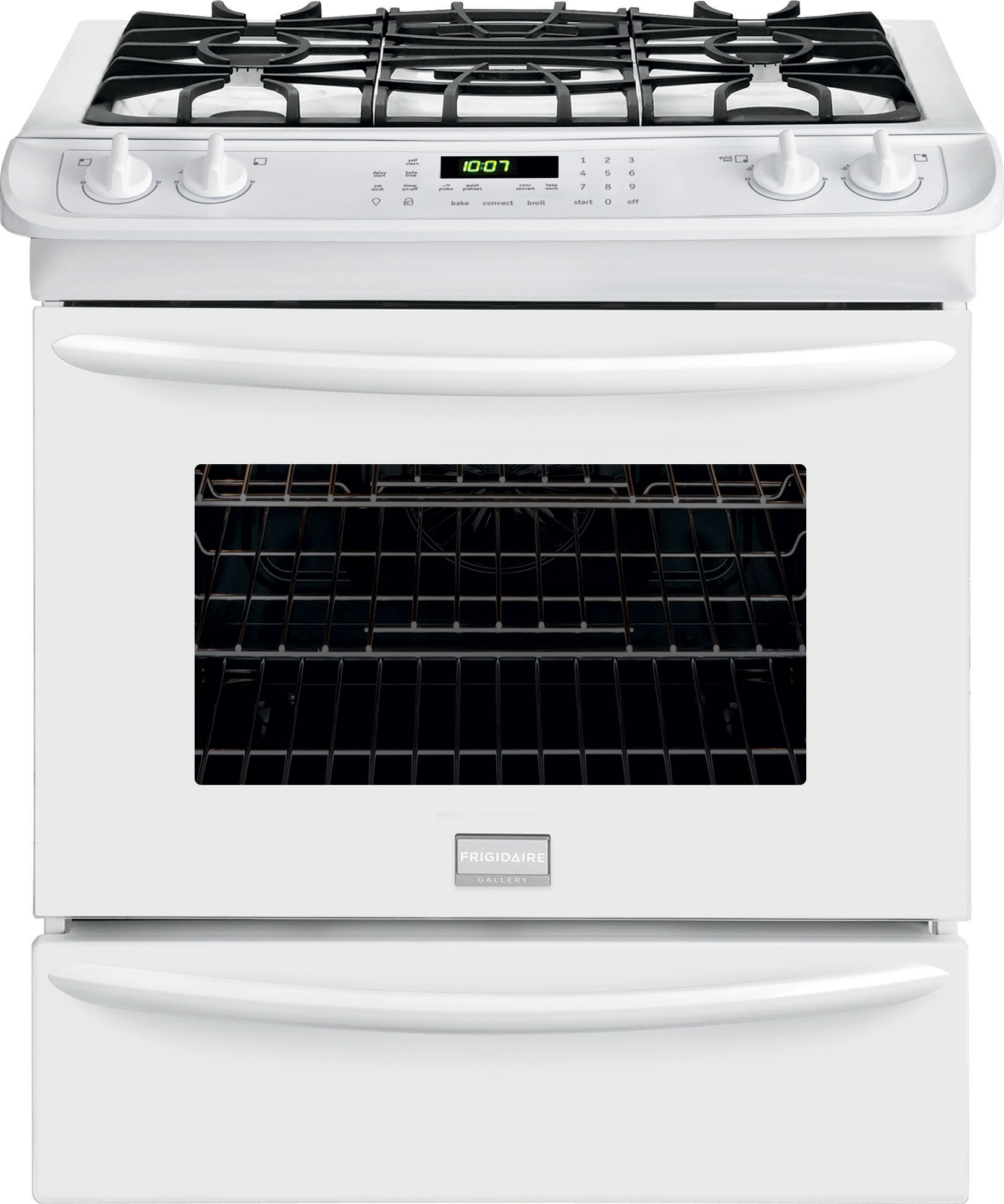 Frigidaire Fggs3065pw 30 Inch Slide In Gas Range With 4 5