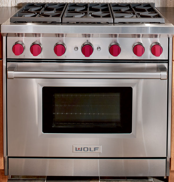 Wolf Gr366lp 36 Inch Pro Style Gas Range With 6 Dual