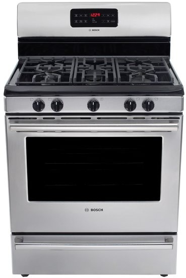 Bosch Countertop Stove : Bosch HGS5053UC 30 Inch Freestanding Gas Range with 5 Sealed Burners ...