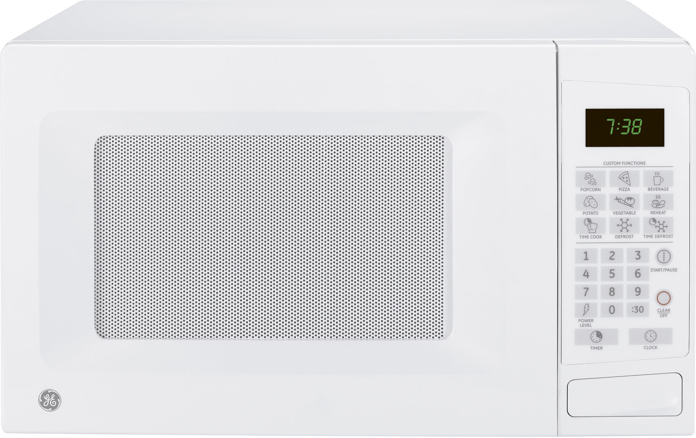 Ge Jes1139dsww 1 1 Cu Ft Countertop Microwave Oven With