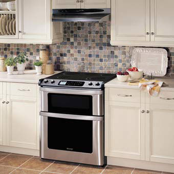 Sharp Kb4425l 30 Inch Slide In Electric Range With