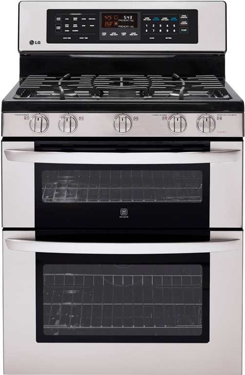 Lg Ldg3017st 30 Inch Freestanding Gas Double Oven Range