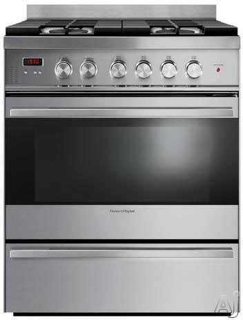 Fisher Amp Paykel Or30sdbmx1 30 Inch Freestanding Gas Range