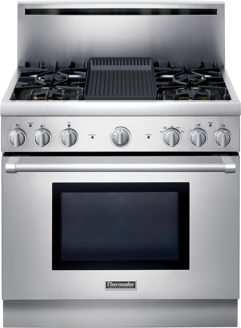 thermador prg364elh 36 inch pro style all gas range with 4 five star range repair manual Five Star Range