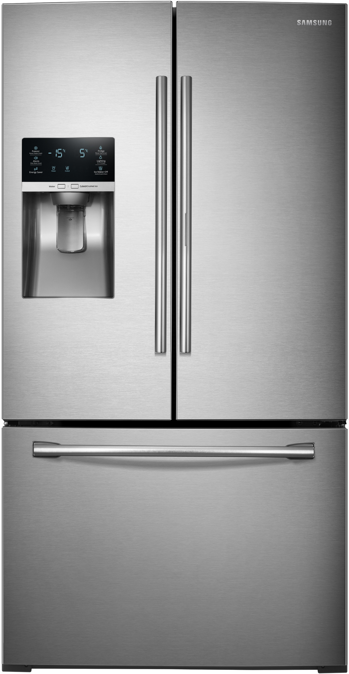 Samsung Rf28hdedbsr 36 Inch French Door Refrigerator With