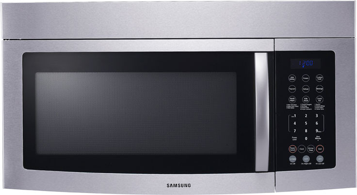 Samsung Smh8165 1 6 Cu Ft Over The Range Microwave With