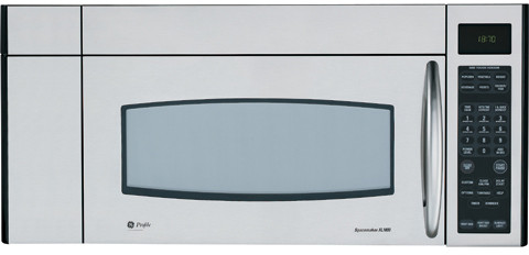 Ge Jvm3670sk 1 8 Cu Ft Over The Range Microwave Oven