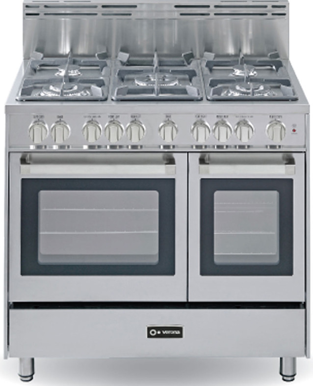 Verona Vefsgg365dss 36 Inch Pro Style Gas Range With 5