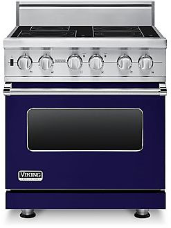 Viking Visc5304bcb 30 Inch Pro Style Induction Range With