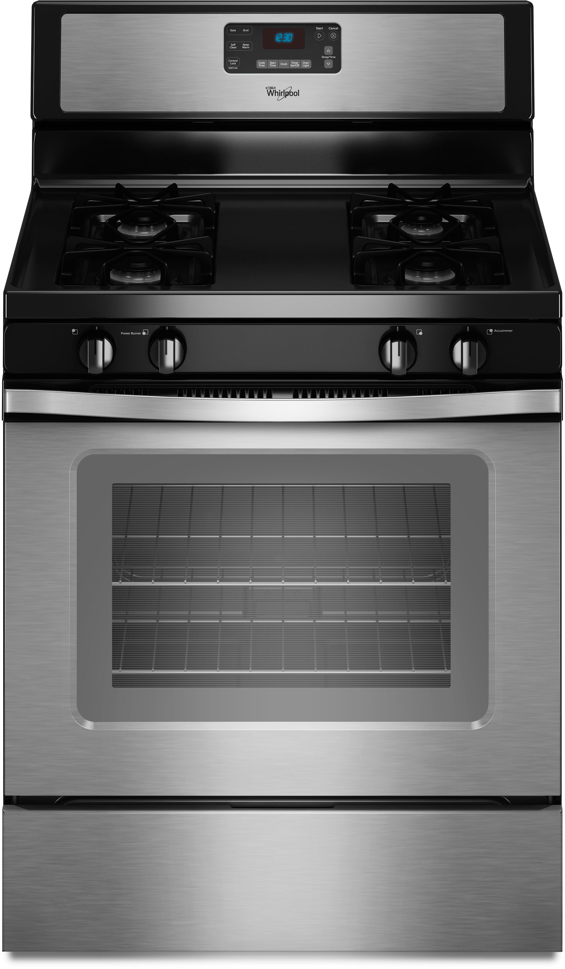 Whirlpool Wfg510s0as 30 Inch Freestanding Gas Range With 4