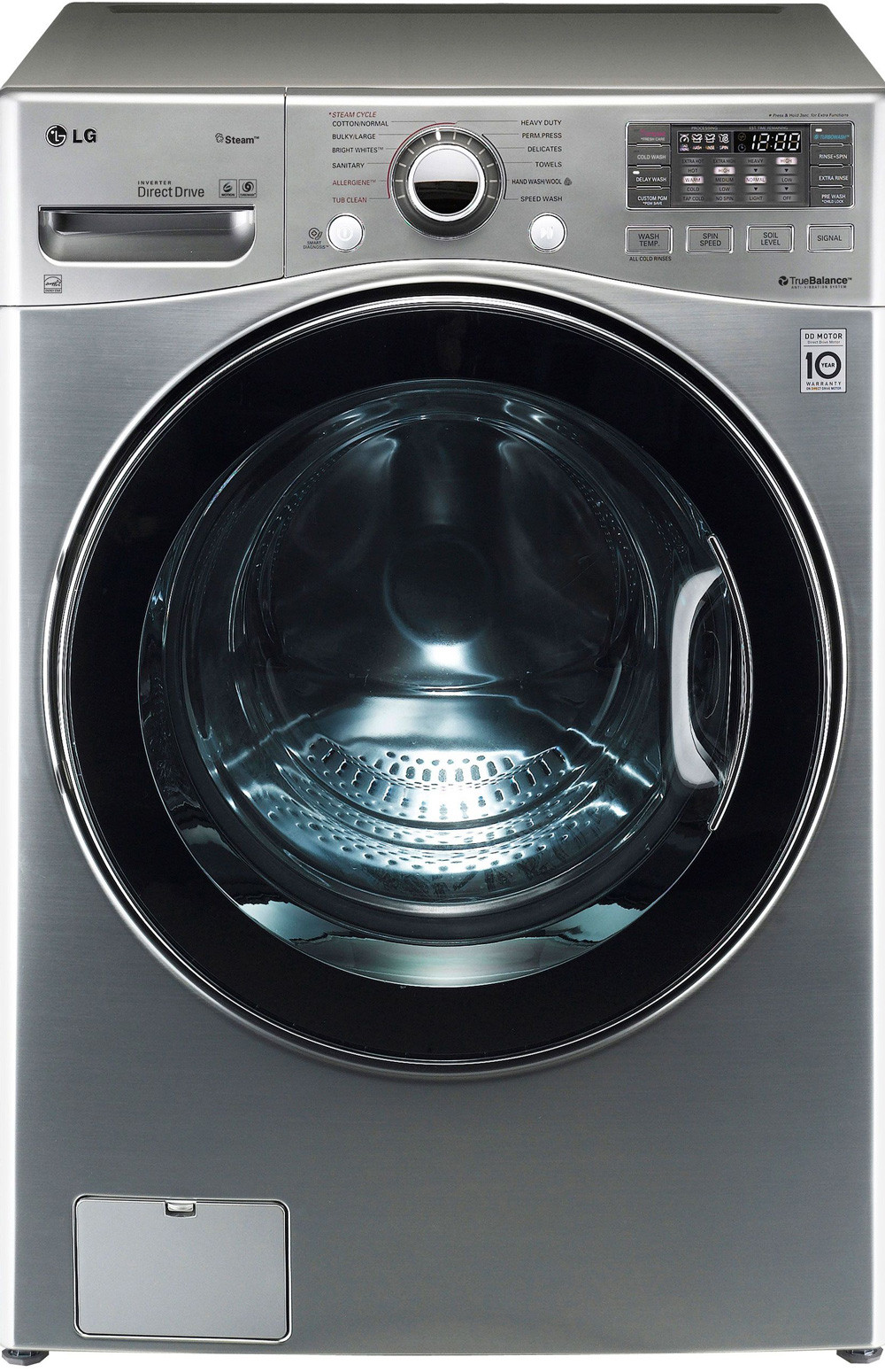 Lg Wm3470hva 27 Inch 4 0 Cu Ft Front Load Washer With 12