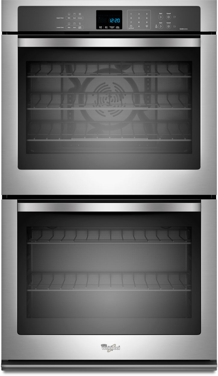 Whirlpool Wod93ec0as 30 Inch Double Electric Wall Oven