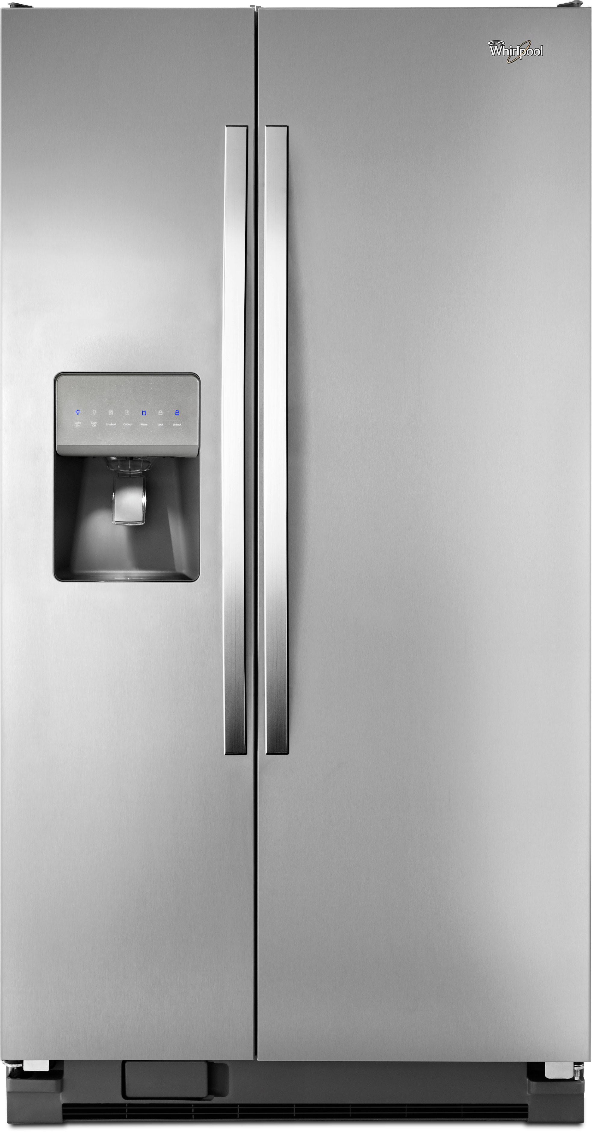 Whirlpool Wrs325fdam 36 Inch Side By Side Refrigerator
