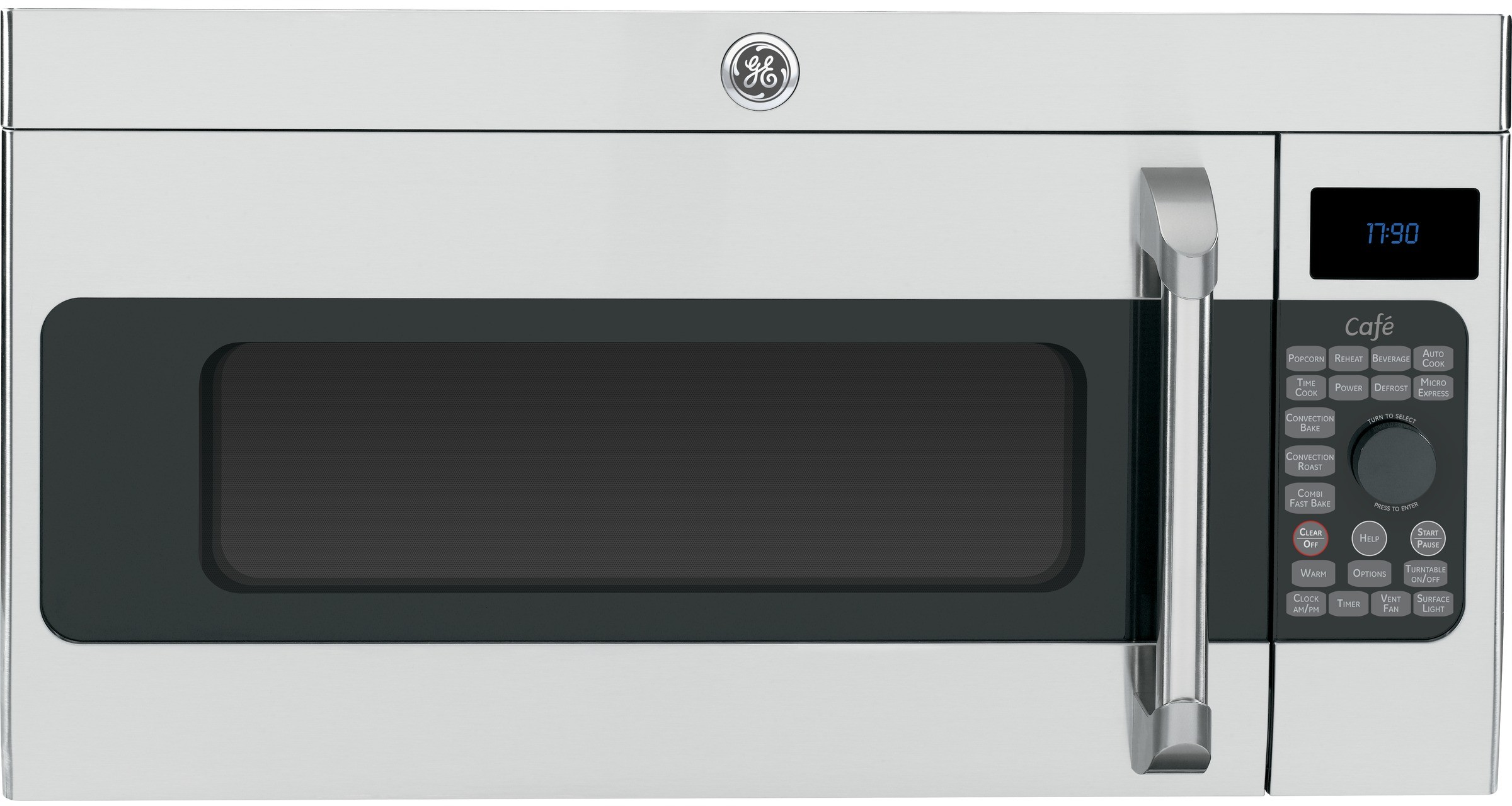 Ge Cvm1790ssss 1 7 Cu Ft Over The Range Microwave Oven