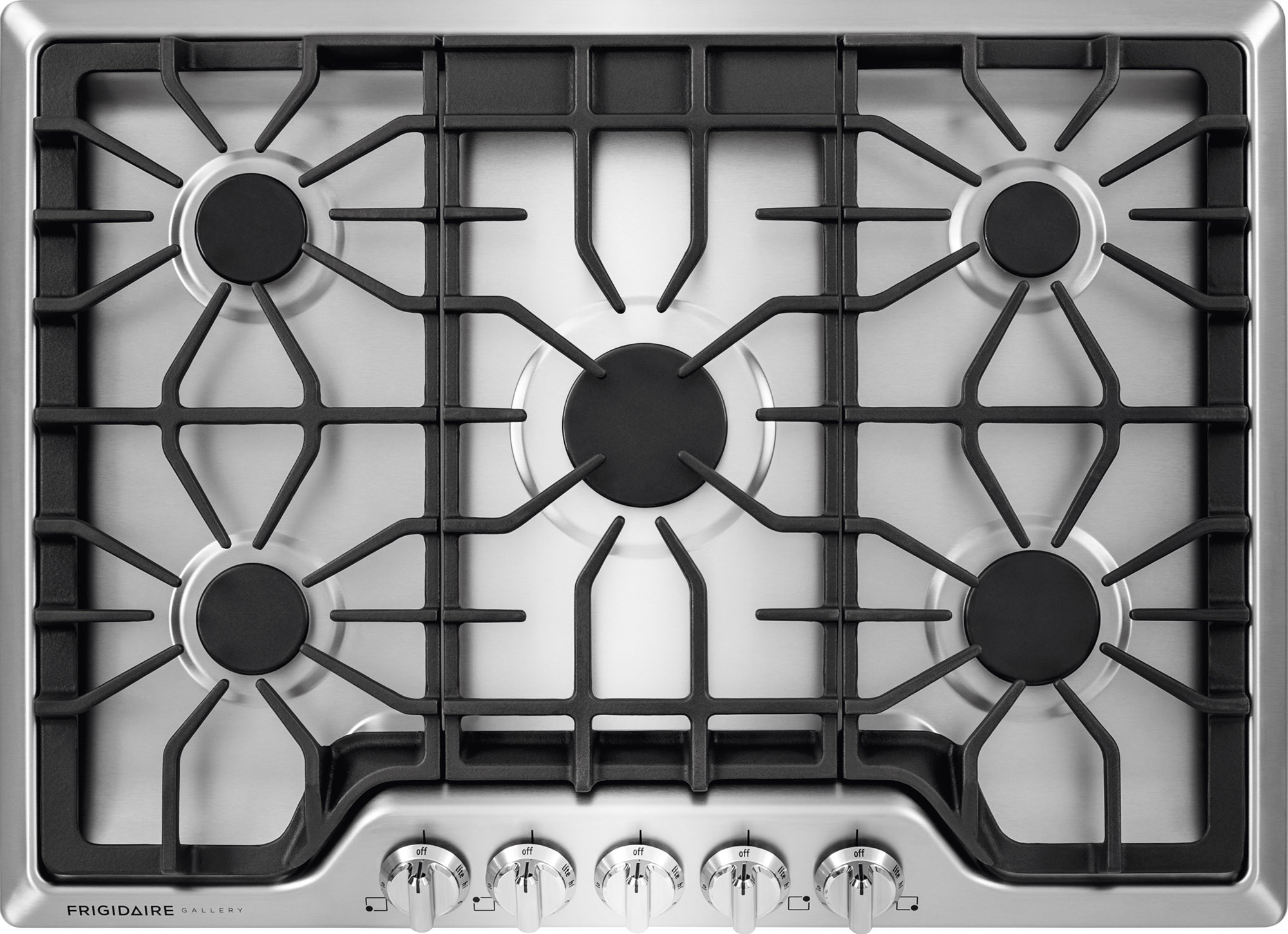 Frigidaire Fggc3047qs 30 Inch Gas Cooktop With 5 Sealed