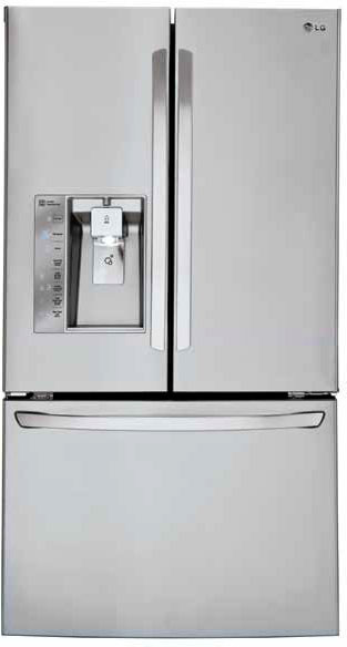 Lg Lfxs30726s 36 Inch French Door Refrigerator With 29 8