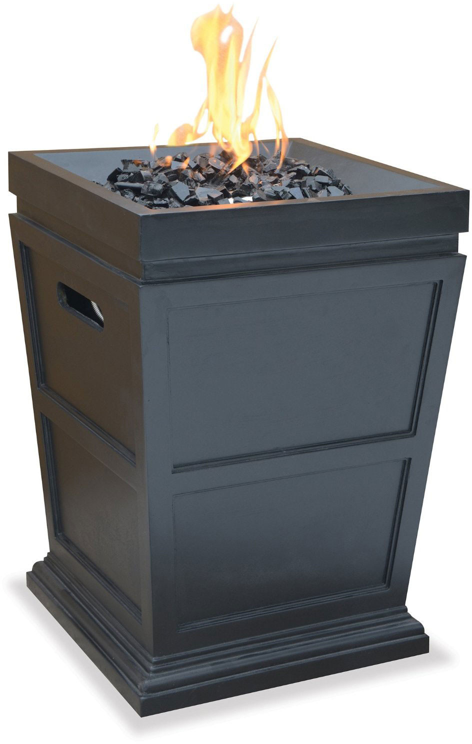 Decorative Outdoor Fireplaces : Blue rhino gad sp outdoor lp gas fireplace with