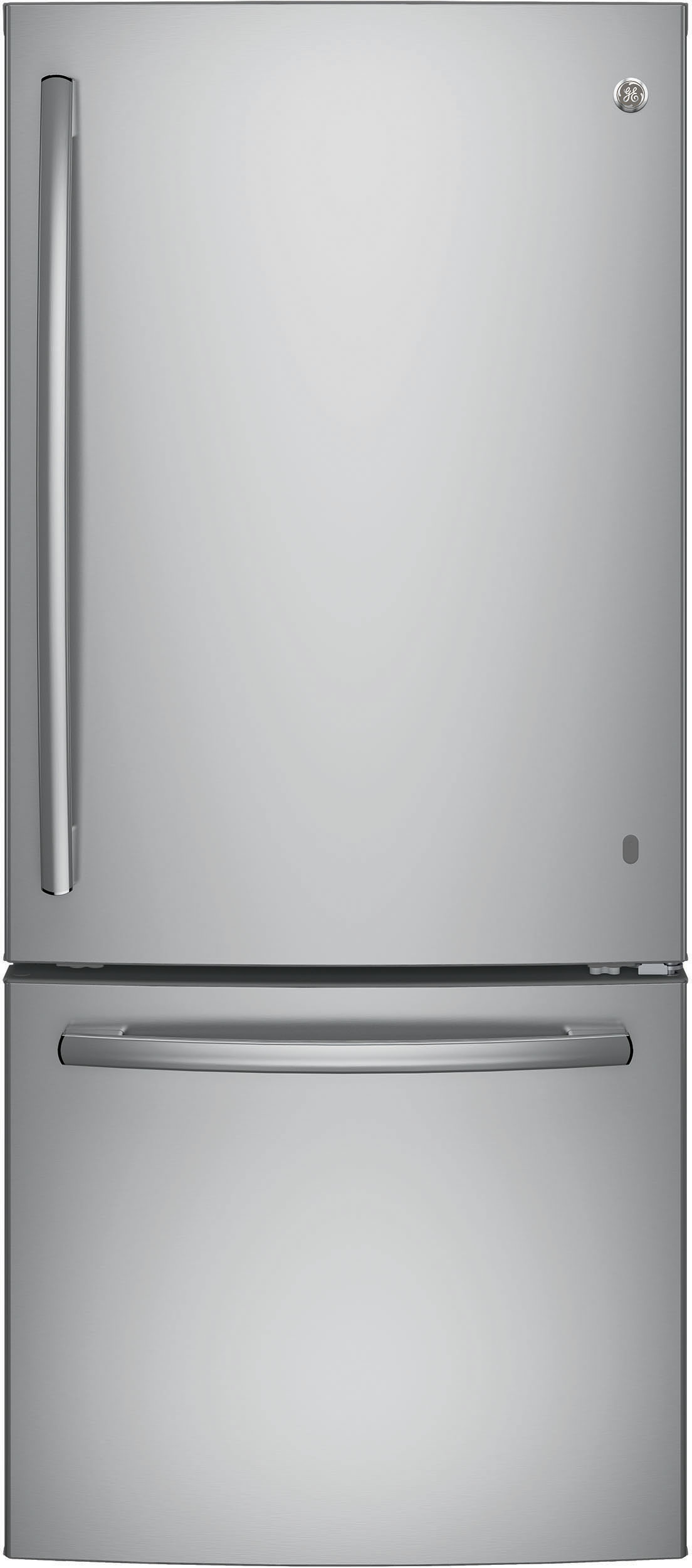 Ge Gbe21dskss 30 Inch Bottom Freezer Refrigerator With 20
