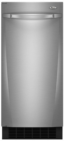 Whirlpool Gi15nflts 15 Inch Built In Ice Maker With 25 Lbs