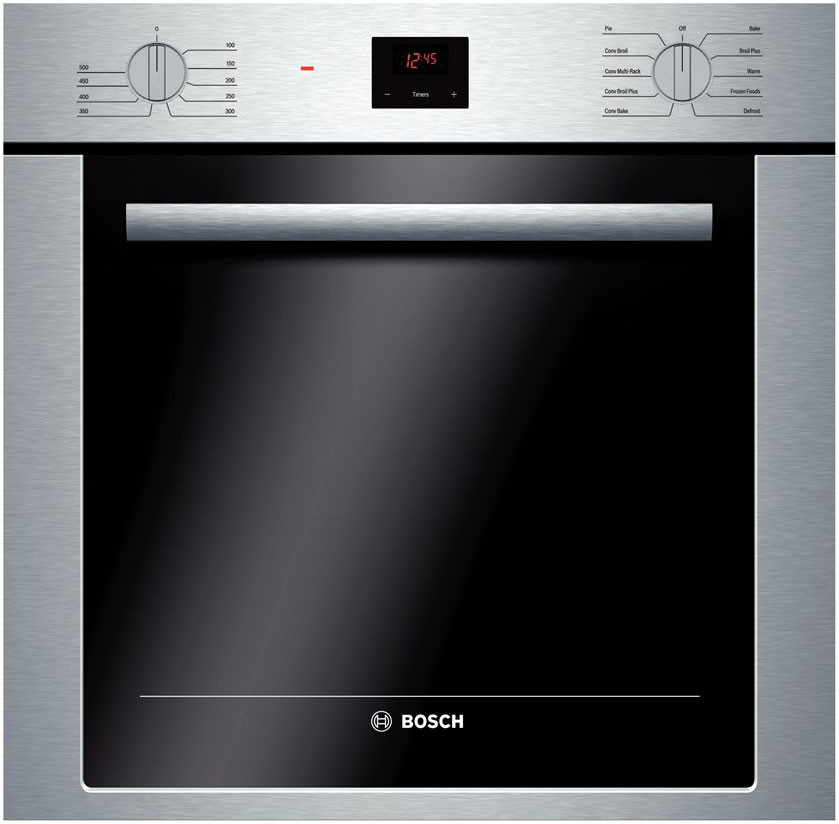 Bosch Hbe5451uc 24 Inch Single Electric Wall Oven With 2 8