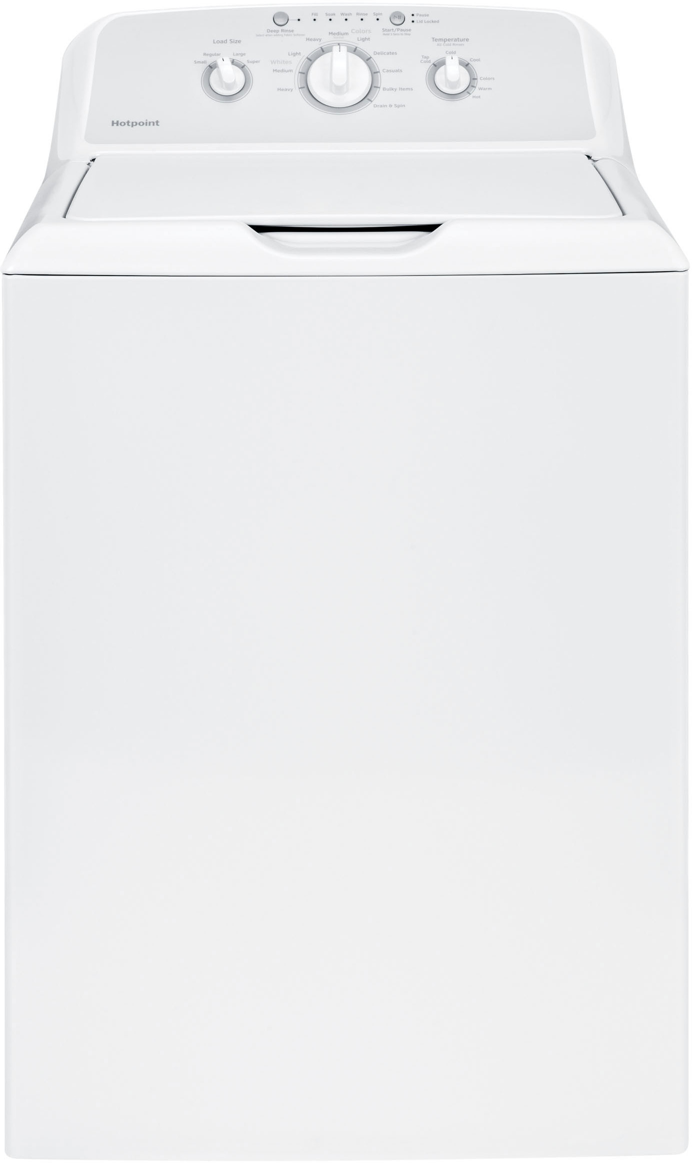 Ge Htw240askws 27 Inch Top Load Washer With 3 6 Cu Ft