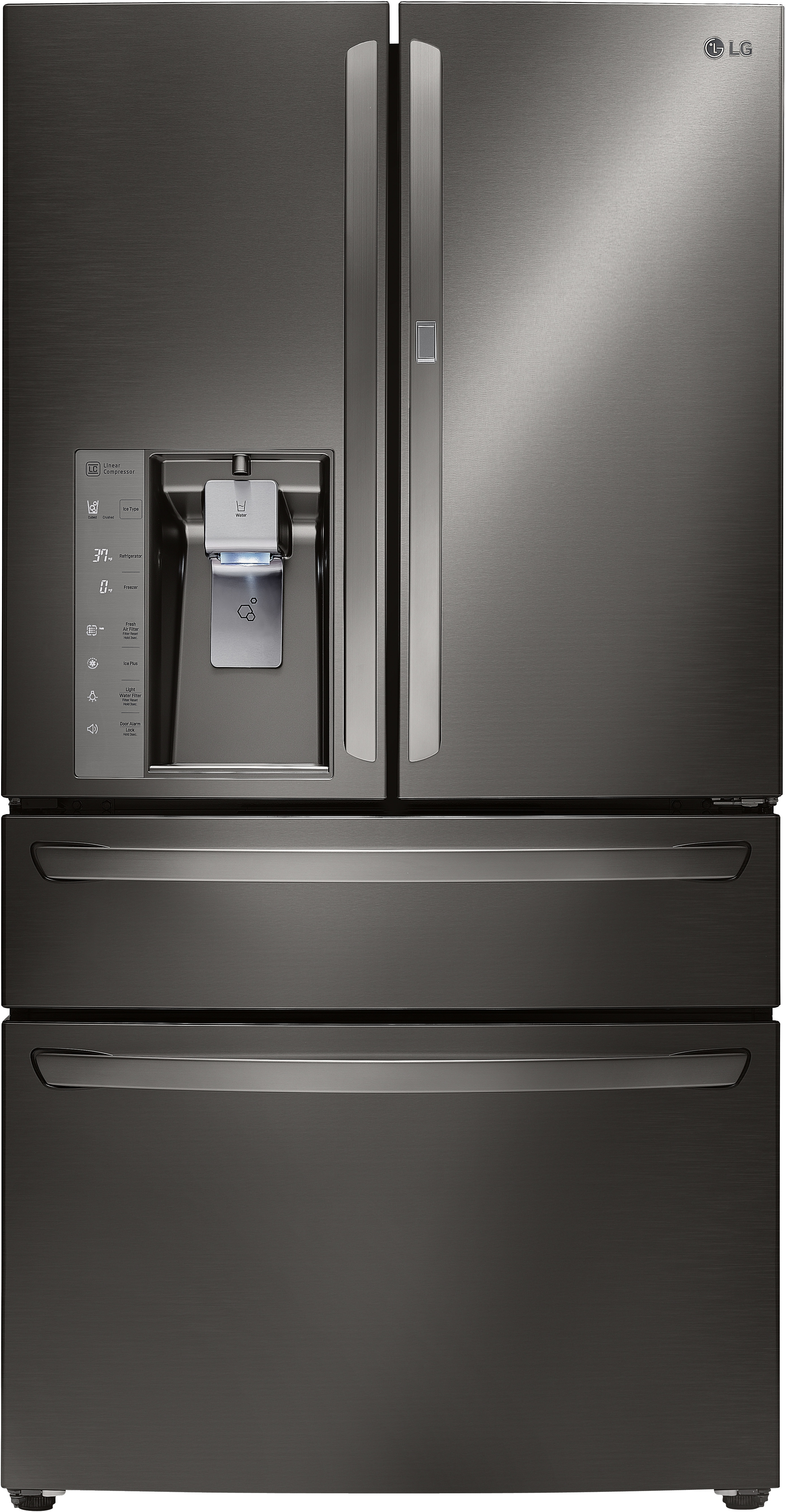 Lg Lmxs30776d 36 Inch French Door Refrigerator With 29 7