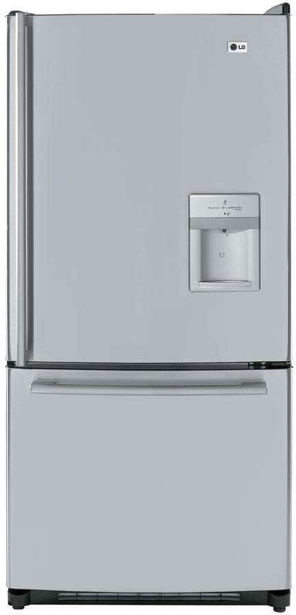 Lg Lrbc22544 22 4 Cu Ft Bottom Freezer Refrigerator With