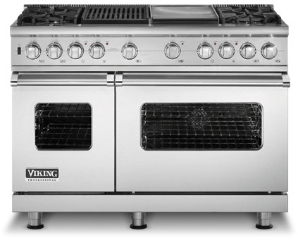 Viking Vdsc5484gq 48 Inch Pro Style Dual Fuel Range With 4