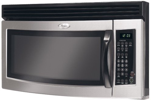 Whirlpool Mh3184xp 1 8 Cu Ft Over The Range Microwave