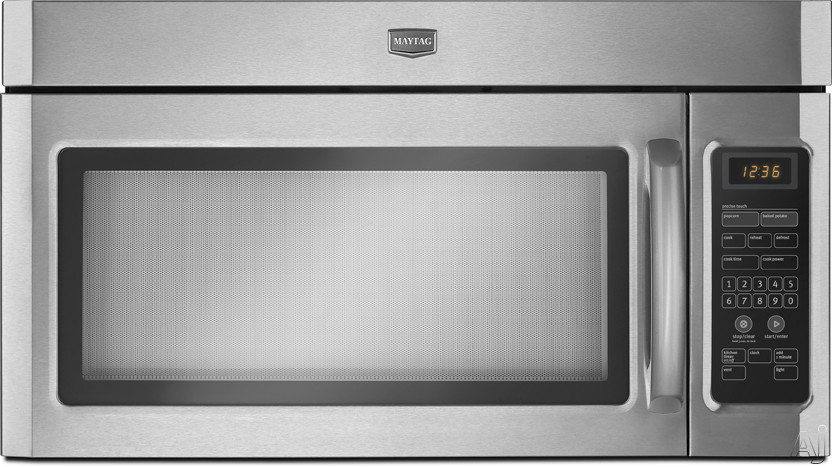 Maytag Mmv1164w 1 6 Cu Ft Over The Range Microwave Oven