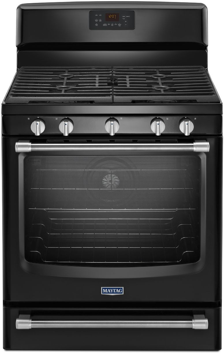 Maytag MGR8700DE 30 Inch Freestanding Gas Range with 5 Sealed Burners ...