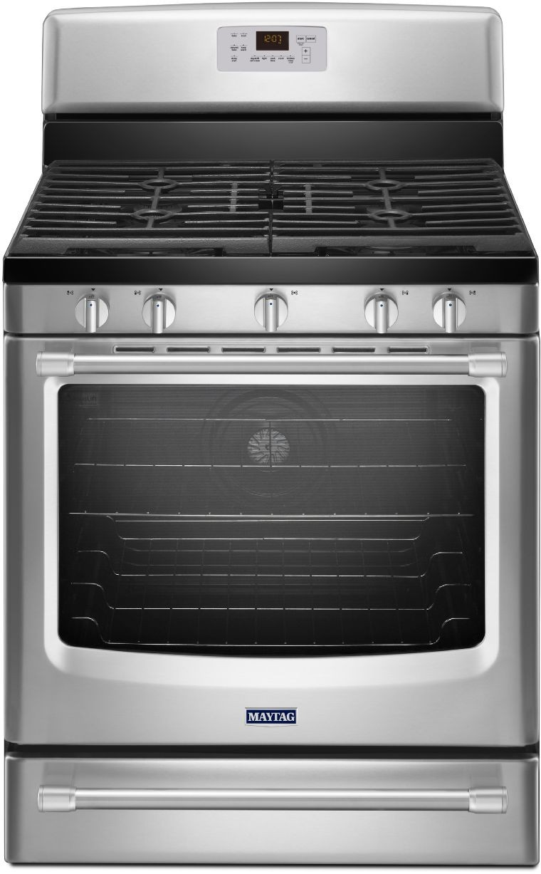 Maytag Mgr8700ds 30 Inch Freestanding Gas Range With 5
