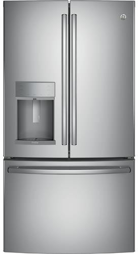 Ge Pfe28kskss 36 Inch Energy Star French Door Refrigerator
